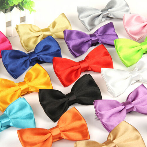 Mens Vogue Classic Novelty Gentlemen Adjustable Tuxedo Wedding Bow Tie Necktie