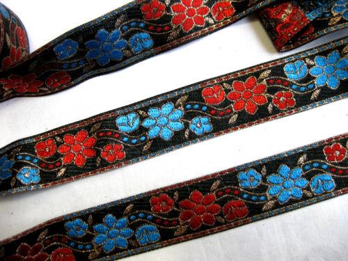 lfm,ca.32mm breit B194 Orientalische Borte in verschiedenen Farben