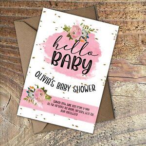 BABY-SHOWER-INVITATIONS-Hello-Baby-Girl-Personalised-PK-10