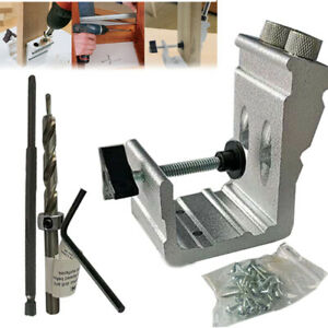 Pocket-Hole-Jig-Kit-Tool-System-Woodworking-Screw-Drill-850-EZ-Heavy-Duty-Set