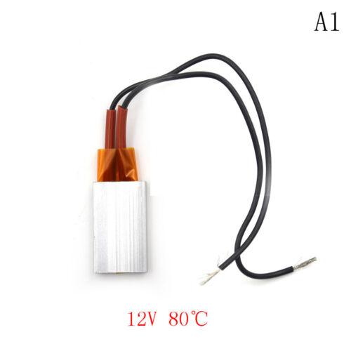 PTC Aluminum Ceramic Heater 12V 80°C ~220°C Hair Dryer Curler Heating Element B$