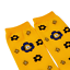 BT21-Character-Flower-Mid-Socks-2-pairs-Set-7types-Official-K-POP-Authentic-MD miniature 4