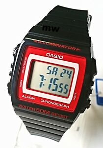 CASIO-W215H-1A2-DIGITAL-SPORT-Unisex-Teens-Quartz-Watch-50M-Alarm-Black-Resin