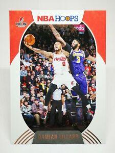 Panini Hoops 2020-21 N26 card NBA base #101 Damian Lillard - Trail Blazers