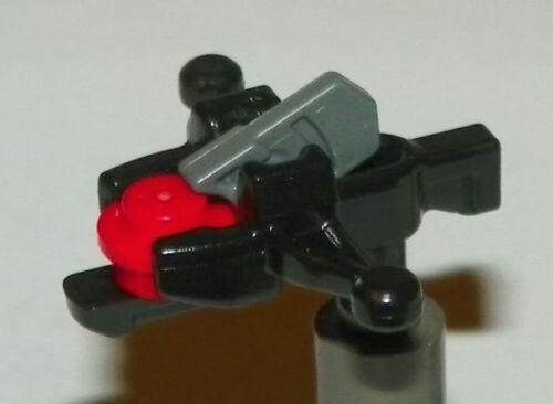 LEGO Crossbow Minifig Weapon Mini Blaster Shooter Star Wars Black NEW