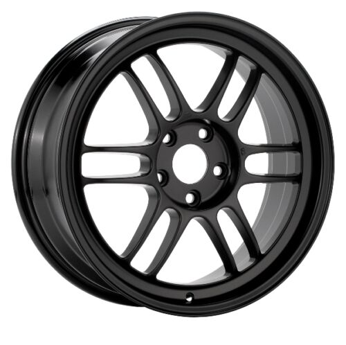30 Black Wheel 17x8.5 Enkei RPF1 5x114.3 1
