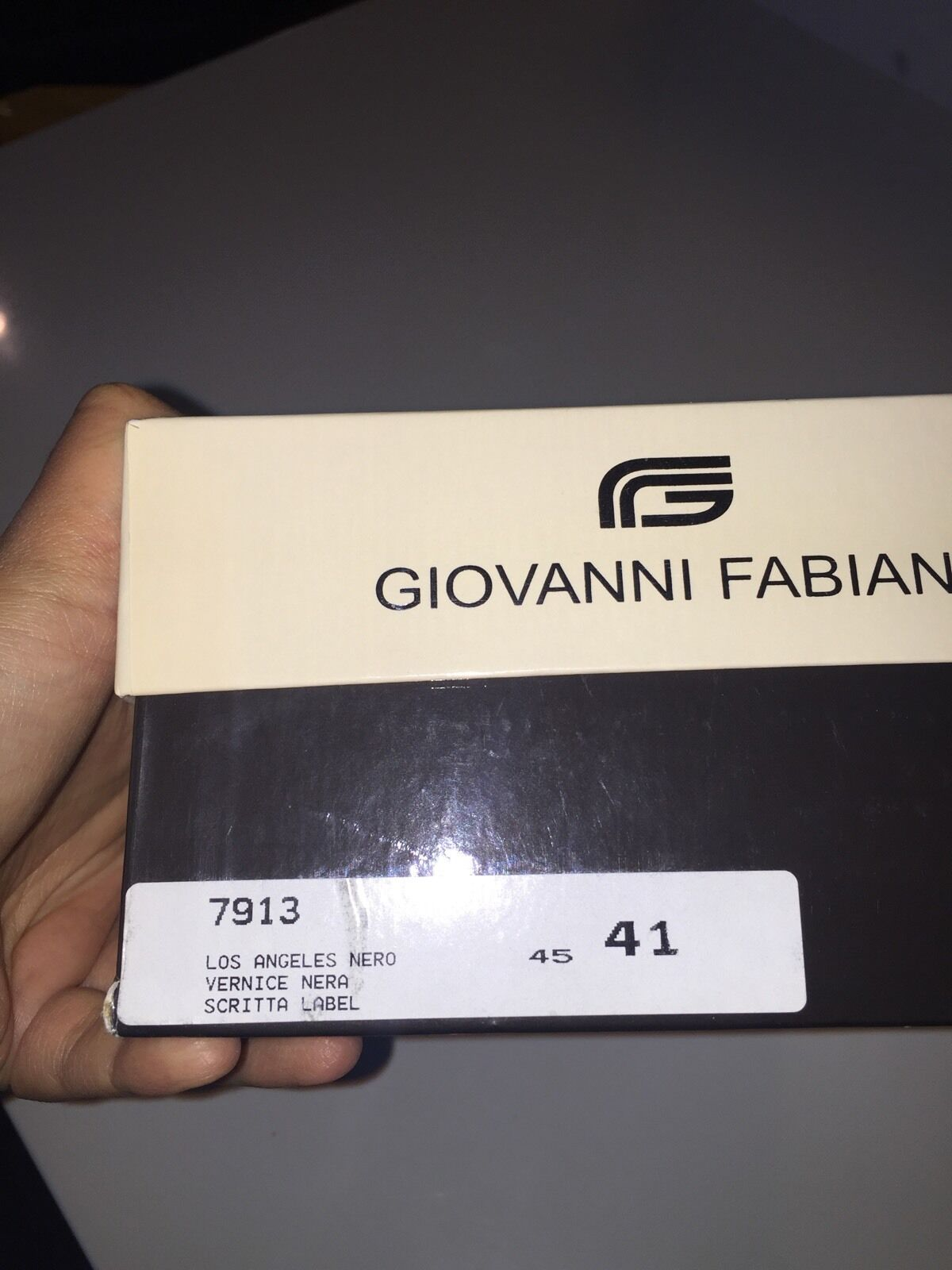 Giovanni Fabiani Size 10 Black NWOT shoes Made In In In  279925