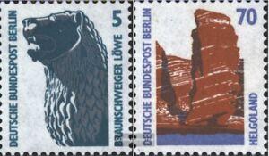 Berlin-West-863-874-kompl-Ausg-postfrisch-1990-Sehenswuerdigkeit