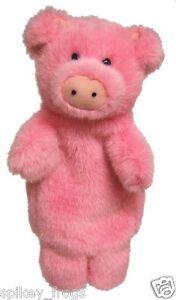 *NEW* KIDS HAND PUPPET PIG PIGLET OINK FARM PLUSH TOY 10inch/25cm