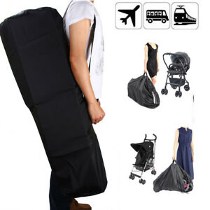 Pram-Gate-Check-Travel-Bag-Umbrella-Stroller-Pushchair-Buggy-Cover-Waterproof-UK