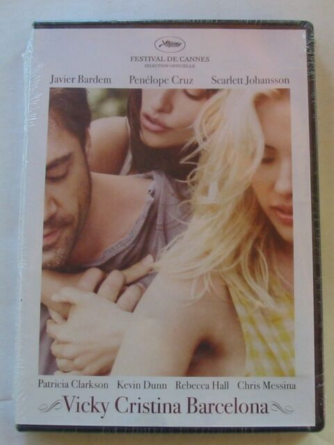 DVD VICKY CRISTINA BARCELONA - Javier BARDEM / Scarlett JOHANSSON - NEUF