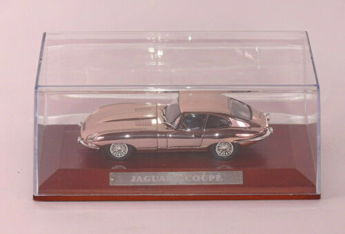 IXO,Atlas 1:43 Serie Silver Cars Jaguar Type E Coupe neu in Klarsichtbox