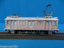 Marklin SJ 3171 Electric Locomotive Typ D 109 Wood Filligrain hood SNOWY VERSION