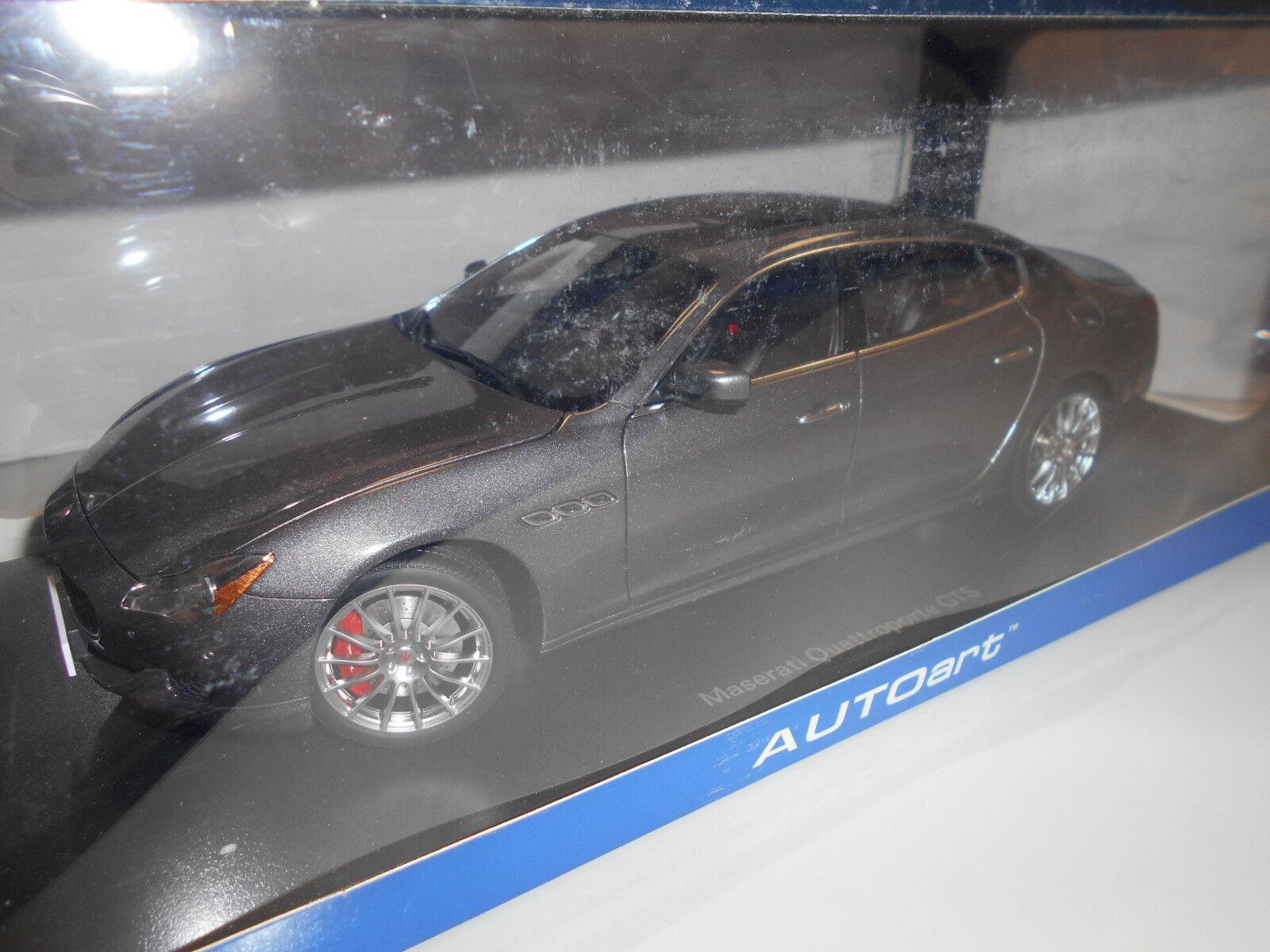 AA75806 by AUTOART MASERATI QUATTROPORTE GTS 2015 1 18