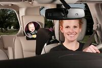 Diono/  Sunshine Easy View Baby Rear Back Seat Car Mirror 360 Brand New