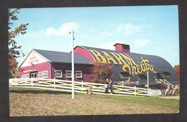 AUGUSTA MICHIGAN THE BARN THEATER VINTAGE ADVERTISING ...