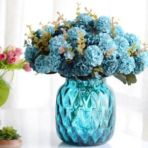 Decoration-Garden-Wedding-Single-Silk-Flowers-Craft-Bridal-Hydrangea