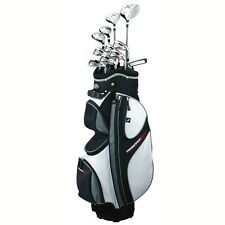 PROSIMMON X9 17 PC MENS RH ALL GRAPHITE COMPLETE GOLF CLUB SET & CART BAG NEW