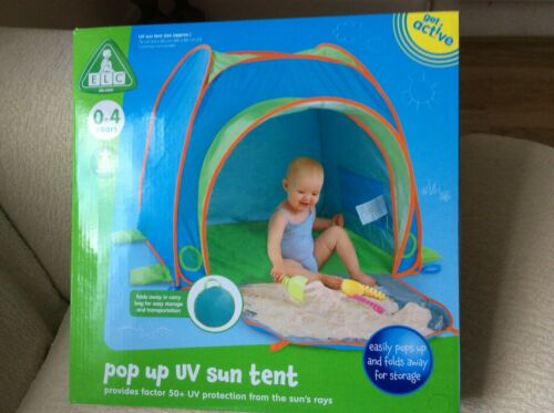 ELC EARLY LEARNING CENTRE POP UP UV SUN TENT 0-4 YEARS BRAND NEW Last One