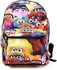 Bp0j9fses Sesame Street Characters Design Backpack Black