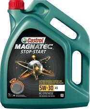 (6,75€/L) CASTROL MOTOR-ÖL MAGNATEC STOP-START 5W-30 A5 5 LITER FORD 159A60
