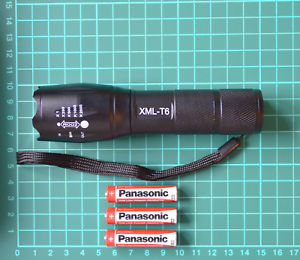 Tactical-Military-Grade-Cree-Torch-2000LM-G700-T6-XML-LED-Light-Batteries-UK