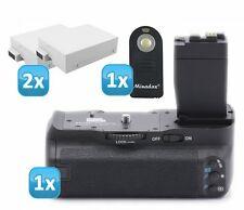 Pixel Vertax Batteriegriff für Canon EOS 700D ersetzt BG-E8 + 2x Akku LP-E8 + IR