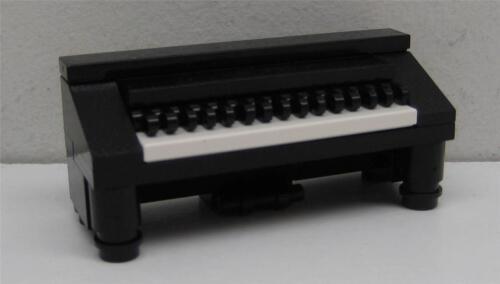 CUSTOM LEGO PIANO LOT town city music unique furniture house black minifig-scale