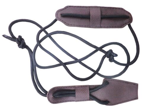 NEW TRADITIONAL MILD BROWN LEATHER BOW STRINGER AA405CM