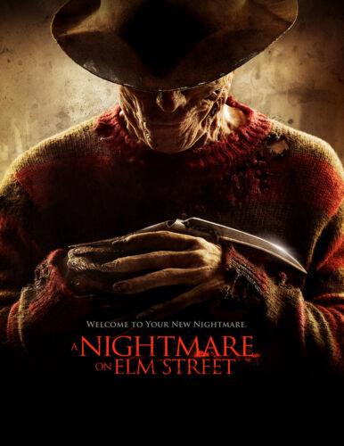 Movie Poster //Nightmare on Elm Street//Freddie Krueger