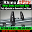1996-2008 Roller Used For Ladders Twin Rear Peugeot Partner Roof Rack Bars x2