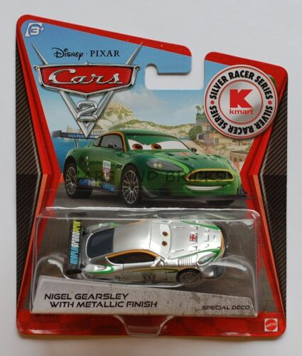 Disney Pixar Cars 2 NIGEL GEARSLEY WITH METALLIC FINISH 1:55  New