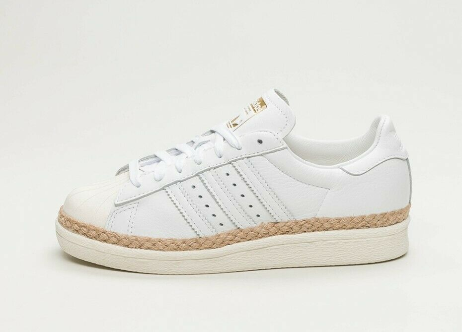 Women's Adidas Originals SuperStar 80s New Bold W White Trainers (DA9573)