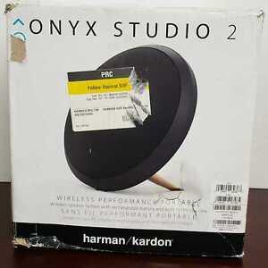 Harman Kardon Onyx Studio 4 Portable Bluetooth Speaker *NO ADAPTER* - Black #122