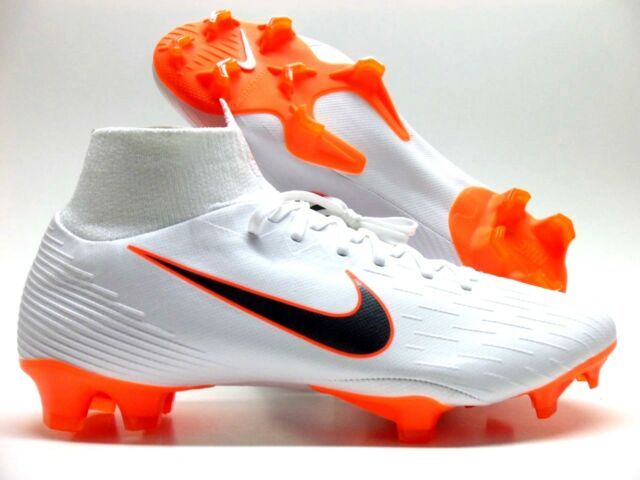 first rate 75220 684ef Nike Superfly 6 Pro FG Soccer Cleat ACC White/met Grey Sz Men's 8.5  Ah7368-104
