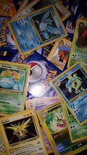 Pokemon Cards, Holographic, original base set 1 & 2, The First Movie Promo cards