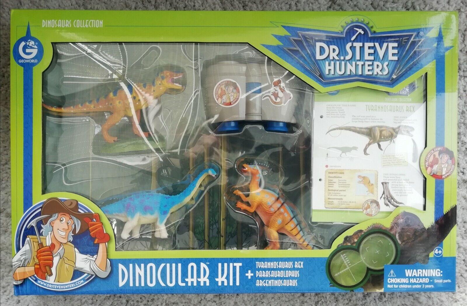 GeoWelt dinosaurs Sammlung Dr Steve Hunters. Dinocular Kit.