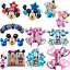 Disney-Mickey-Minnie-Mouse-Birthday-Foil-Latex-Balloons-1st-Birthday-Baby-Shower thumbnail 1