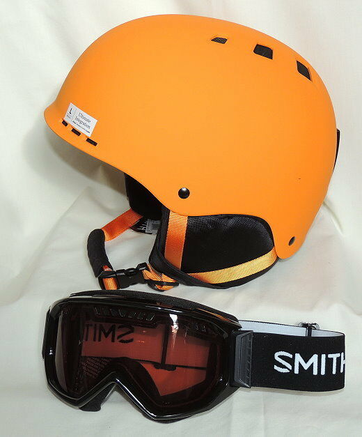 Smith Optics Holt  Ski Helmet-Adult L W Smith Scope Anti-fog Inner Lens Goggles  enjoying your shopping