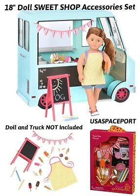 """New Our Generation A Day at the Fair 21 piece Accessory Set for 18/"""" Dolls"""