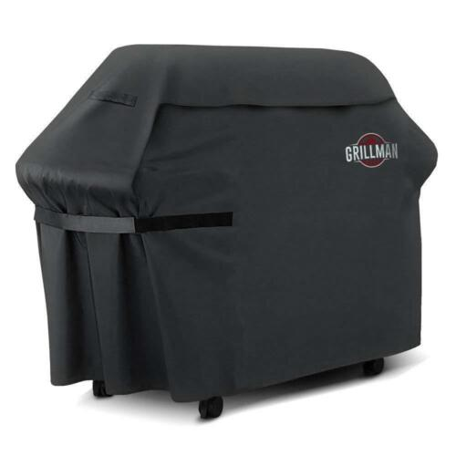 Grillman Premium BBQ Gas Grill Cover Heavy-Duty Rip-Proof UV /& Water-Resistant