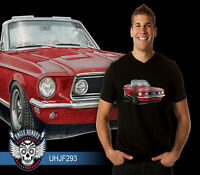 67' Ford Mustang Convertible 351 V8 Classic Quality Tshirt