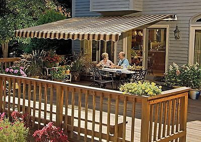 SunSetter Motorized Retractable Awning, 16x10 ft. Outdoor ...