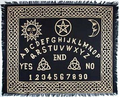 "Ouija Board Altar Cloth 24"" by 30"" Wicca Pagan"