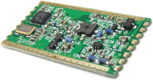 RFM23BP 433Mhz HopeRF +30dBm 1W High Power RF Wireless Transceiver