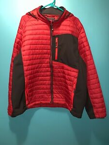 SKECHERS Mens Puffer Jacket Coat Mixed