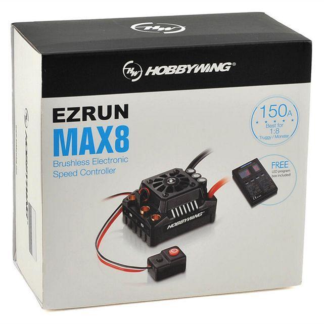 Hobbywing EZRUN Max8 V3 150A Brushless Waterproof ESC Traxxas Plug For 1/8 Car