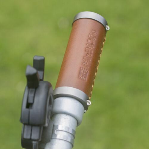 Brompton Leder Griffe M//H //S Typ Lenker Kurz Gerade Ergonomisch Schwarz Braune