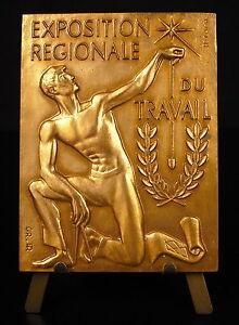 Medaglia-a-Master-Ebanista-Marc-Gourgues-Sc-R-Cami-75-mm-169g-il-Lavoro-Medal