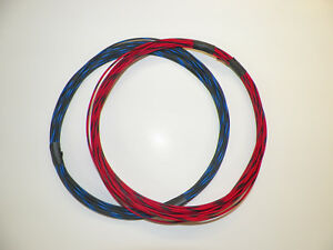 18 Gxl High Temp Automotive Wire 2 Striped Colors 10 Feet Each 20